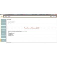 Assets Control System (ACS)